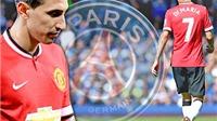 Di Maria rời Man United với giá 63 triệu euro, ký hợp đồng 4 năm với PSG