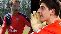 SO SÁNH: Petr Cech vẫn nhỉnh hơn Courtois