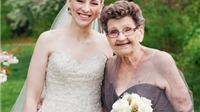 Phù dâu 89 tuổi gây sốt trong đám cưới của cháu gái