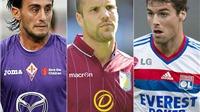 CHÙM ẢNH: Đội hình 'miễn phí' chất lượng cao của bóng đá châu Âu mùa Hè này