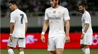 Không 'BBC', Real Madrid chìm trong bóng tối