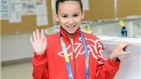Cô bé 10 tuổi chính thức trở thành VĐV trẻ nhất trong lịch sử giải VĐ bơi lội thế giới