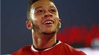 Man United công bố số áo: Depay tiếp quản áo số 7 , số 9 để trống, không có chỗ cho Valdes