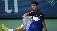 Vô địch giải Citi Open, Kei Nishikori lên thứ 4 thế giới