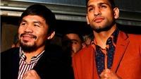 Mayweather từ chối? Đã có Manny Pacquiao đấu với Amir Khan