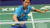 Tiến Minh dừng bước ở vòng 3 giải cầu lông vô địch thế giới 2015