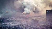 VIDEO tự quay: Toàn cảnh vụ nổ 'như bom nguyên tử' ở Thiên Tân