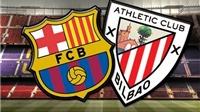 Link truyền hình trực tiếp và sopcast Athletic Bilbao - Barca (3h00,15/8)