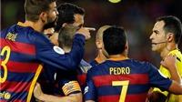 CẬP NHẬT tin tối 19/8:  Pique bị treo giò 4 trận. Chelsea qua mặt United vụ Pedro