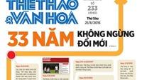 VPF chúc mừng báo Thể thao & Văn hóa nhân kỷ niệm 33 năm ngày ra số báo đầu tiên