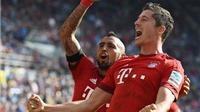 Hoffenheim 1-2 Bayern Munich: Neuer cản penalty, Bayern giành chiến thắng với 10 người