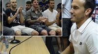 Pedro trở lại Barca để chia tay Messi và đồng đội: 'Vì sao tôi từ chối Man United?'