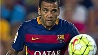 Barcelona: Alves nghỉ một tháng, Busquets trở lại ngay tuần này