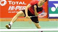 Giải cầu lông Việt Nam mở rộng 2015: Tiến Minh lại thắng nhọc
