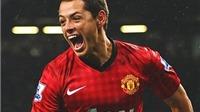 Chicharito gia nhập Leverkusen: Dù thế nào, anh luôn được fan Man United yêu mến