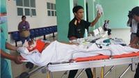 Điều trực thăng chở cấp cứu thuyền viên bị tai nạn ở khu vực quần đảo Trường Sa