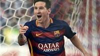 Atletico Madrid 1-2 Barcelona: Neymar và Messi ghi bàn. Barca lên ngôi đầu La Liga