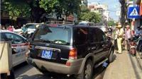 """Hà Nội: Xử lý nghiêm vụ xe ô tô """"biển xanh"""" đi vào đường cấm còn bỏ chạy"""