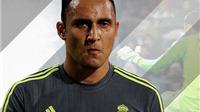 Keylor Navas phá kỷ lục đã tồn tại 40 năm ở Real Madrid