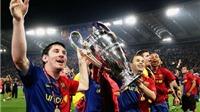Barca đã thay đổi thế nào so với đội hình dự Chung kết Champions League 2009?