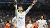 Real Madrid 4–0 Shakhtar Donetsk: Real quá may, Ronaldo lập kỷ lục Champions League!