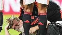 CĐV Man United giận sôi máu vì Luke Shaw bị gãy chân: 'Hector Moreno xứng đáng bị loại khỏi bóng đá'