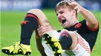 Louis van Gaal: 'Luke Shaw đã khóc vì quá đau'