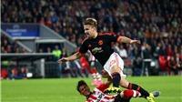 Đêm đau đớn của Man United: Thất bại của Van Gaal và chấn thương kinh hoàng với Luke Shaw