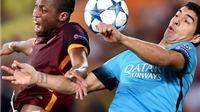 Roma 1-1 Barca: Lập siêu phẩm, Florenzi làm lu mờ Messi, buộc Barca chia điểm