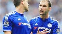 Mourinho ra tối hậu thư cho Ivanovic và Terry: Đá tốt hoặc 'biến' khỏi Chelsea