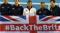 Tuyển Anh vào chung kết Davis Cup: Kỳ tích của Leon Smith