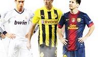 Ronaldo, Messi cũng chào thua Lewandowski