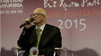 Nhà nghiên cứu Giang Quân giành Giải thưởng Lớn - Vì tình yêu Hà Nội