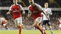 Tottenham 1-2 Arsenal: Flamini lập siêu phẩm, ghi cú đúp, giải cứu 'Pháo thủ'