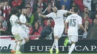 Bilbao 1-2 Real Madrid: Lập cú đúp, Benzema đưa Real lên ngôi đầu bảng Liga