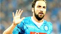 01h45 ngày 27/9, Napoli - Juventus: Trước lưỡi kiếm Higuain
