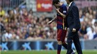 Messi dính chấn thương nặng thứ hai trong sự nghiệp