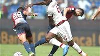 Genoa 1-0 Milan: Balotelli nhạt nhòa, Milan lại gây thất vọng