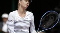 Sharapova lại chấn thương, tiếp tục phải nghỉ đấu