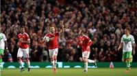 Mata đánh gót kiến tạo siêu hạng, giúp Man United đánh bại Wolfsburg