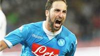 Higuain sút xa tuyệt đẹp, Napoli thắng áp đảo Legia Warszawa