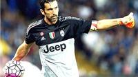 Danh sách ứng viên QBV: Loại Buffon là bất công và tàn nhẫn