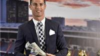 Ronaldo được Real Madrid vinh danh sau khi cân bằng kỉ lục ghi bàn của Raul