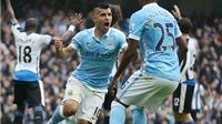 Loạt trận 21h vòng 8 Premier League: Aguero ghi 5 bàn, Man City đại thắng