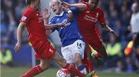 Everton 1–1 Liverpool: Ings và Lukaku ghi bàn. Derby bất phân thắng bại