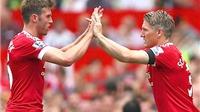 Man United: Schweinsteiger cần Schneiderlin hỗ trợ