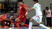 Link truyền hình TRỰC TIẾP trận futsal Thái Lan - Việt Nam