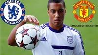 Man United và Chelsea tranh giành tài năng trẻ người Bỉ