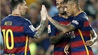 Dani Alves hy vọng Messi không kịp bình phục chấn thương