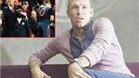 Arjen Robben: 'Wenger rất giỏi, dù ông ấy gọi tôi là kẻ ăn gian'